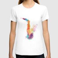 saxophone T-shirts featuring Saxophone by jbjart