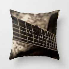The Next Note Throw Pillow