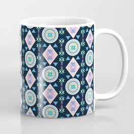 Dancing Diamonds By Everett Co Coffee Mug