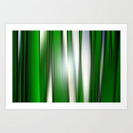 Deep in the grass. Art Print