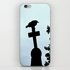 Pere-Lachaise Raven iPhone & iPod Skin
