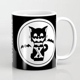 Black ScareCatx Coffee Mug