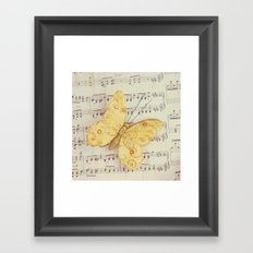 Dance of the Butterfly Framed Art Print