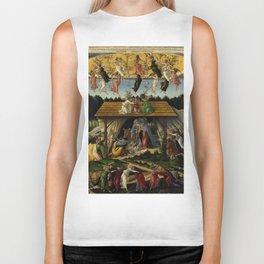 "Sandro Botticelli ""The Mystical Nativity"" Biker Tank"