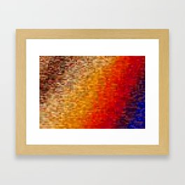 the square field of me Framed Art Print