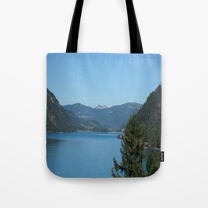 Achen Lake Tote Bag