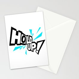 Persona Hold Up Meme Stationery Cards