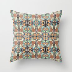 Sunbaked Sundries Throw Pillow