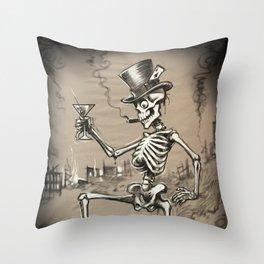 Mr Lucky Throw Pillow
