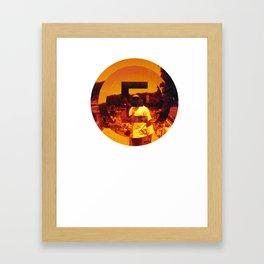 n for new york Framed Art Print