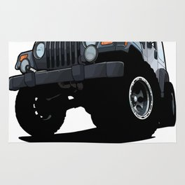 Cool Jeep adventure Rug