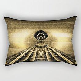 Temple Rectangular Pillow