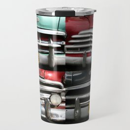 Cuba Car Grilles - Vertical Format  Travel Mug