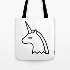 Albino Sugar Unicorn Tote Bag