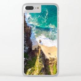 Jurassic Park Clear iPhone Case