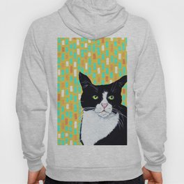 Portrait of Jasper the Cat Hoody