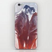sterek iPhone & iPod Skins featuring sterek by AkiMao