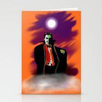 dracula Stationery Cards featuring Dracula by JT Digital Art