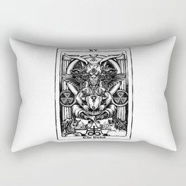 The Devil Tarot Rectangular Pillow
