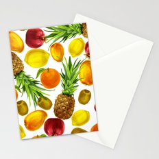 Coloful Watercolor Fruits Stationery Cards