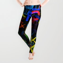The Most Colorful Leggings