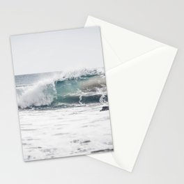 Malibu, mint, SoCal, beach photography, Los Angeles, beach, seaside, California, surf, California p Stationery Cards