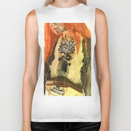 Witch of the wood Biker Tank