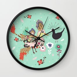 What a Happy day Wall Clock