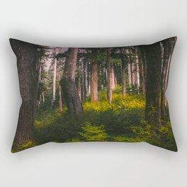 Oregon Forest II Rectangular Pillow