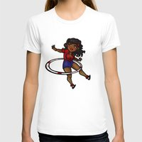 rockabilly T-shirts featuring Rockabilly Hula Hoop Girl by roryseviltwin