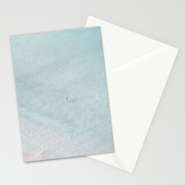 beach - the swimmer Stationery Cards