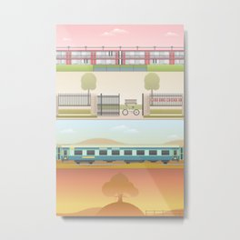 A Wes Anderson Collection Print 2 Metal Print