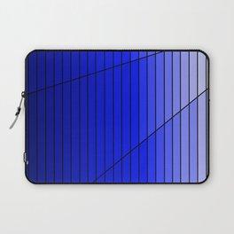 Blue Gradient Pattern Design Laptop Sleeve