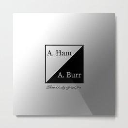 A. Ham / A. Burr Metal Print