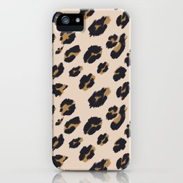 B&B Leopard Design iPhone Case
