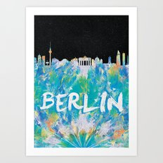 Berlin (Feat. Filipe Rolim) Art Print