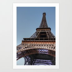 Eiffel Tower Paris Art Print
