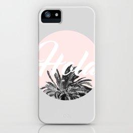 Hola! #society6 #decor #buyart iPhone Case