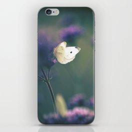 Butterfly Meadow iPhone Skin