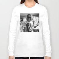 ryan gosling Long Sleeve T-shirts featuring Macaulay Gosling by Jad Bean
