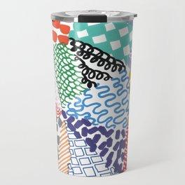 Patchwork Line Designs Travel Mug