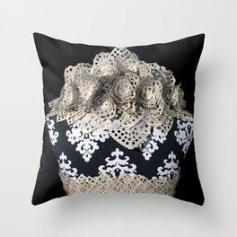 Emil and La Vie En Rose III Throw Pillow