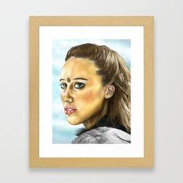 Commander Lexa Framed Art Print