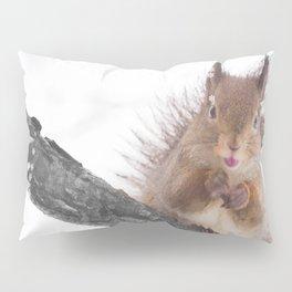 Little squirrel - smack! Pillow Sham