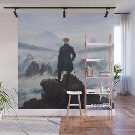 Caspar David Friedrich - Wanderer above the sea of fog Wall Mural