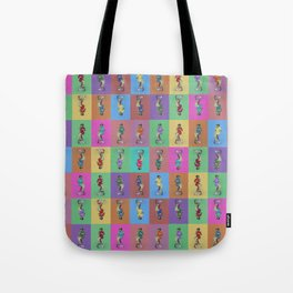 He's Got an Arm Off - Zombie Pin-Up Graphic Pattern Tote Bag