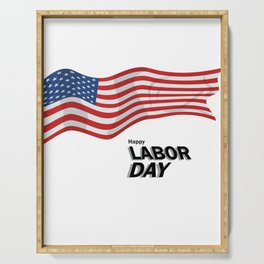 Labor Day Serving Tray