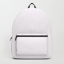 Pale Wisteria White 2018 Fall Winter Color Trends Backpack