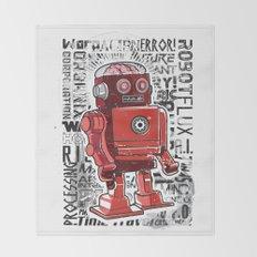 Robot Flux Throw Blanket