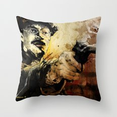 Halk Mask Throw Pillow